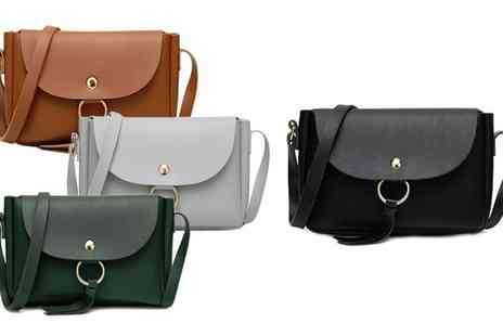 Groupon Goods Global GmbH - One or Two Ring Tassel Cross Body Bags - Save 80%