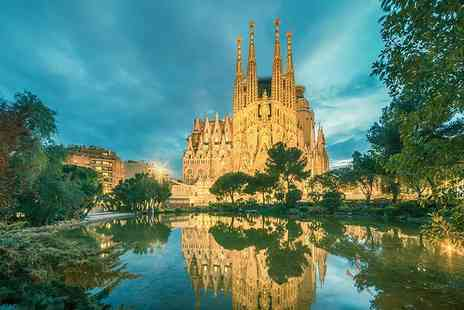 Tour Center - Two, three or four night Barcelona break with La Sagrada Familia tour and flights - Save 31%