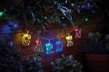 Groupon Goods Global GmbH - One or Two 64 Piece Led Alphabet String Light Sets - Save 67%