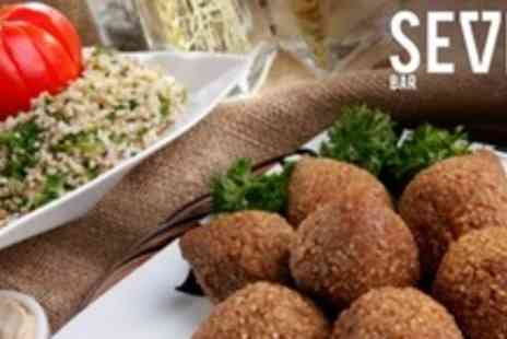 Seven Bar - Meze For Two With Two Cocktails Each - Save 62%