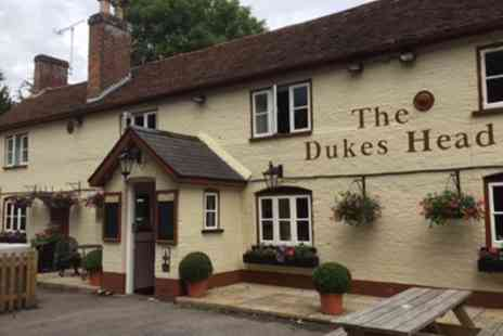 The Dukes Head - Steak Meal with Wine for Two or Four - Save 0%