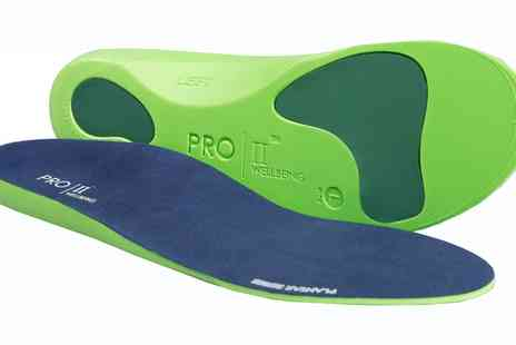 Groupon Goods Global GmbH - One, Two or Four Pairs of Orthotic Insoles - Save 50%