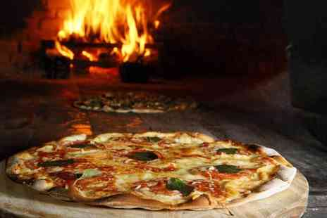 Buyagift - Choice of pizza or pasta with either wine or beer for two - Save 0%