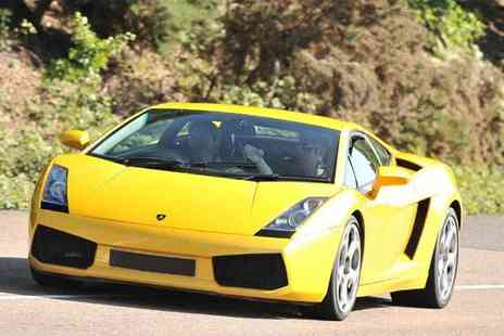 Buyagift - Lamborghini supercar driving thrill experience with a high speed passenger ride - Save 0%