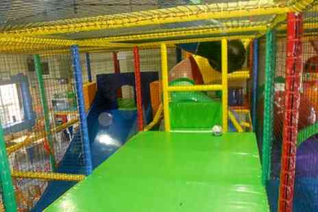 Tower of Fun - Soft Play Entry with Slush Puppie and a Hot Drink for Two, Three or Four Children - Save 61%