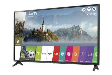 Groupon Goods Global GmbH - LG 43LJ594V 43 inch Smart LED TV With Free Delivery - Save 20%