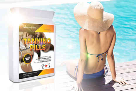 Skinny Diva - One month supply of tanning tablets - Save 72%
