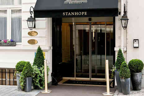 Stanhope Hotel - Five Star Elegant Belgian Boutique For Two - Save 75%