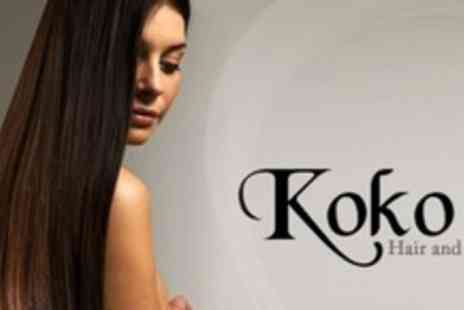 Koko Hair and Beauty - Cut or Restyle and ghd Treatment - Save 73%