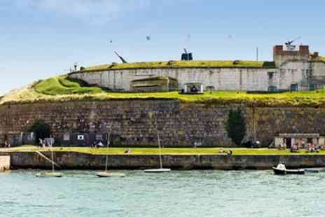 Weymouth Civic Society - Entry & Drink for 2 to 19th Century Dorset Fort - Save 54%