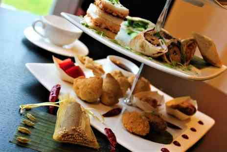 Praza Edgbaston by Pushka - Indian afternoon tea for one or two include sparkling wine or include Crazy Gin Lassi - Save 37%