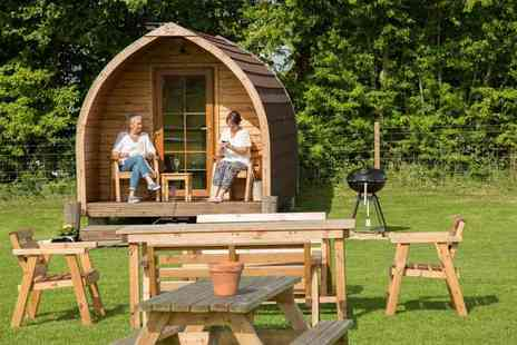 Rosebud Meadow - Two, five or seven night glamping retreat for up to four - Save 31%