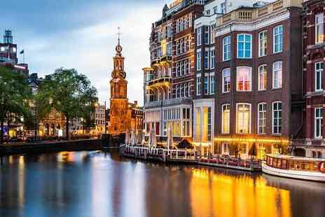 Weekender Breaks - Two night Amsterdam spa break with return flights - Save 29%