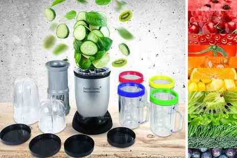 Advanced Global Productions - 21 piece power smoothie blender set grind, blend, chop or mix - Save 67%