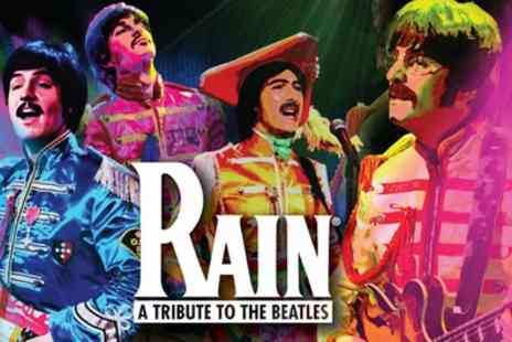 Rain - One ticket to Rain 50 Years of The Beatles Band A, B, C or D Ticket on1 To 7 October - Save 0%