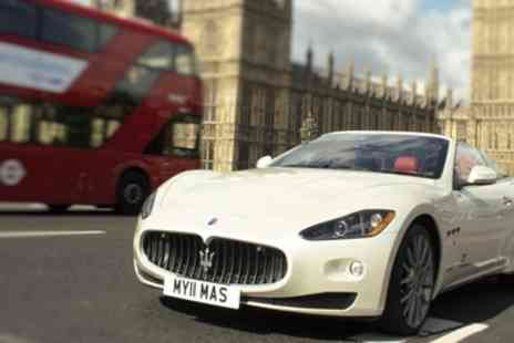 GT Rush - 30 or 60 Minute Maserati GranCabrio Driving Experience - Save 34%