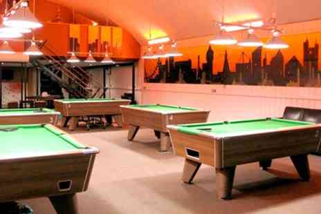 Spots & Stripes - Two Hour of Pool, Beer and Silver Membership for Two - Save 70%