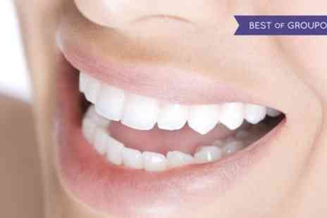 A Silva Dental Studio - Zoom Teeth Whitening with Exam and Optional Air Polish and Home Whitening Kit - Save 76%