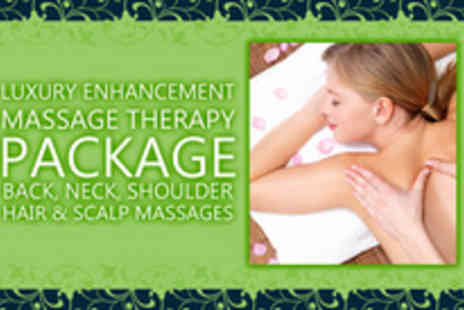 BioDiverseCity - Four relaxing massage treatments in a pampering package - Save 71%