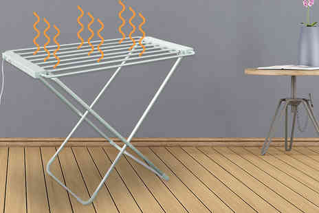 Ckent - Freestanding heated clothes airer - Save 55%