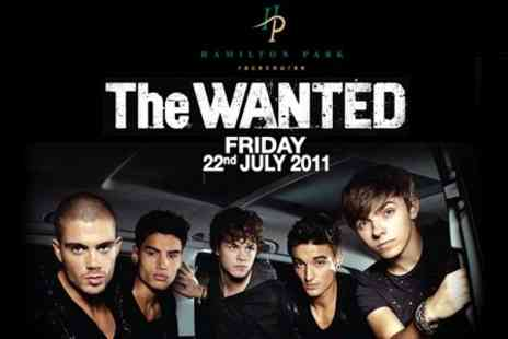 Hamilton Park Racecourse - Ticket to See The Wanted - Save 50%