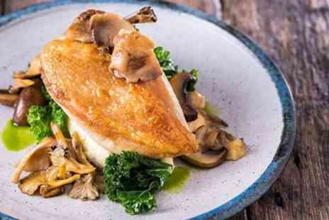 The Swan at Hay Hotel - Welsh Border Three Course Lunch with Coffee for 2 - Save 37%