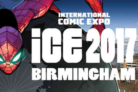 Smallzone Events - Early entry ticket to The International Comic Expo - Save 53%