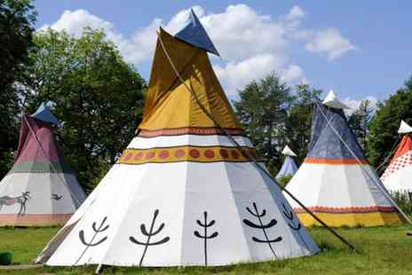 4 Winds Lakeland Tipi - Four night midweek or three night weekend tipi stay - Save 36%
