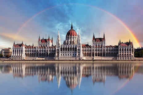 Crystal Travel - Two or three night Budapest break including flights - Save 68%