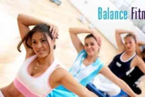 Balance Fitness - Fifteen Boot Camp Pilates Sessions - Save 80%