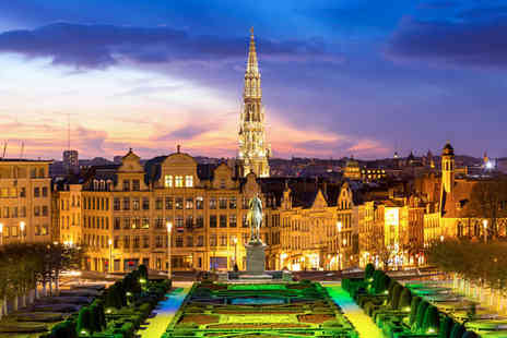 NH Collection Brussels Centre - Four Star 1920s Hotel Stay For Two, 5 Minutes from the Grand Place - Save 80%