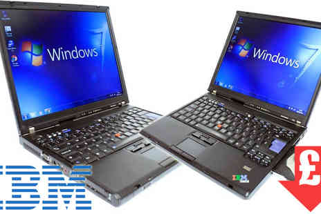 Techy Team - IBM Thinkpad T60 Laptop Core 2 Duo - Save 75%