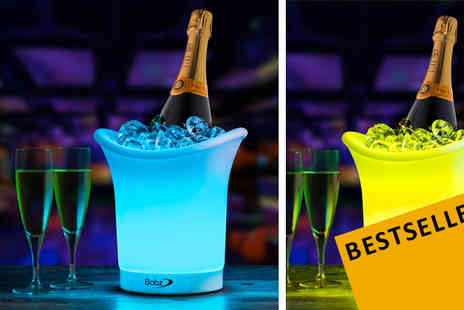 A2B Shopping - LED Colour Changing Ice Bucket - Save 85%