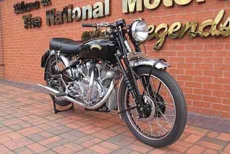 National Motorcycle Museum - Two adult tickets or family ticket to the National Motorcycle Museum - Save 52%