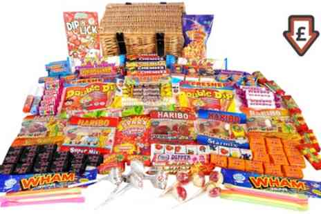 Groupon Goods Global GmbH - Choice of Retro Sweet Hampers - Save 71%
