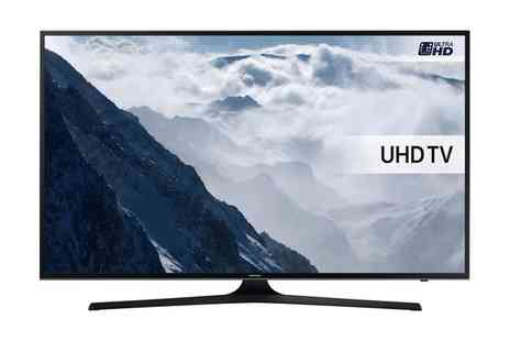 Groupon Goods Global GmbH - Samsung UE43KU6000 Smart 4K Ultra HD HDR 43 Inch Led TV With Free Delivery - Save 13%