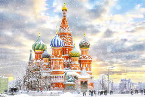 The Two Capitals Of Russia - 4 or 5 Star Russias Magnificent Winter Beauty - Save 51%