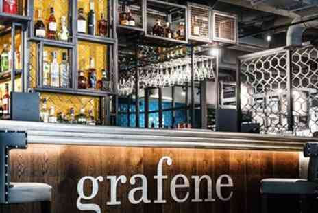 Grafene - Afternoon tea for 2 with cocktails in Manchester - Save 35%