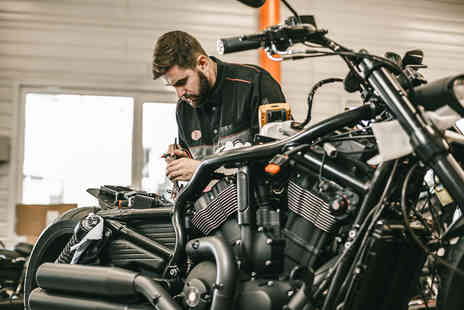 Vale MOT Centre - Full motorcycle MOT test - Save 53%