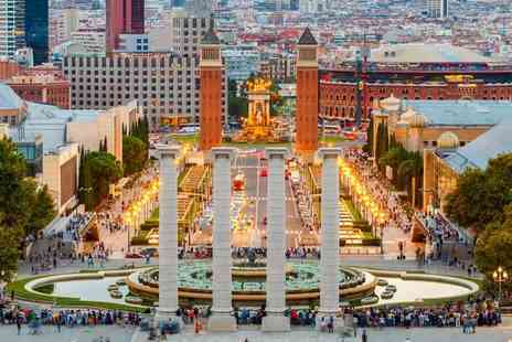 Tour Center - Two, three or four night Barcelona break with flights - Save 43%