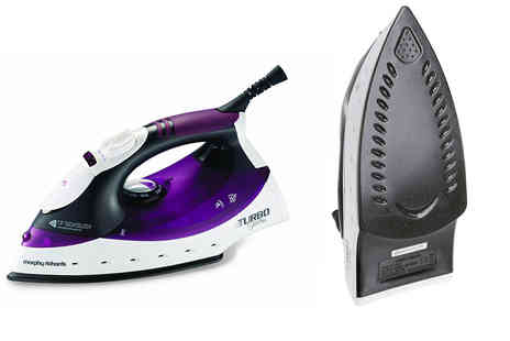 Qualtex - Morphy Richards Turbosteam iron - Save 52%