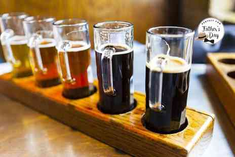Bier Huis - Beer tasting experience for two with nibbles - Save 0%
