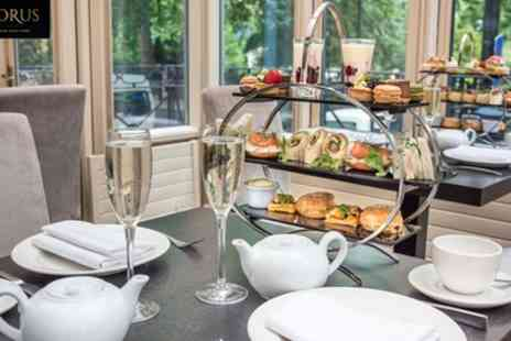 Corus Hotel - Choice of Afternoon Tea with Optional Prosecco for Two - Save 46%