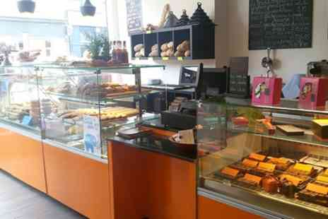 Patisserie Maxime - French Meal, Hot Drink and Cake for Two - Save 49%