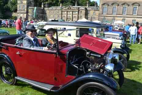 Gemini Events - Classic Motor Show Tickets, Wentworth Woodhouse on 17 September - Save 38%