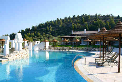 Athena Pallas Village - Five Star Private Beach and Superb Spa For Two - Save 18%