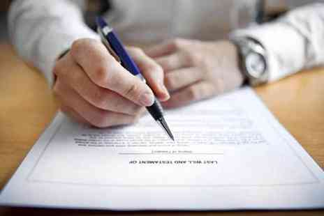 Active Wills - Single will writing service - Save 86%