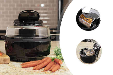 Qualtex - Extra large 6.8 litre halogen air fryer - Save 62%
