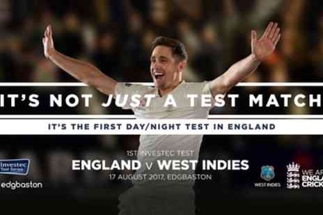 Edgbaston Cricket Ground - England v West Indies Day One on 17 August - Save 0%
