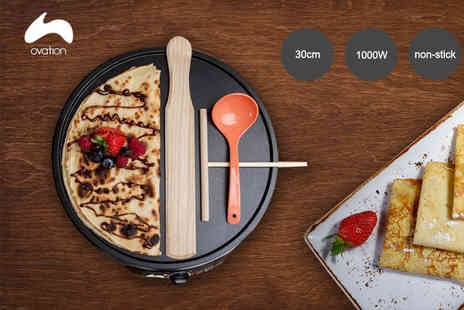 Qualtex UK - Ovation pancake maker - Save 60%